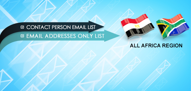 All Africa Region Business Email Lists