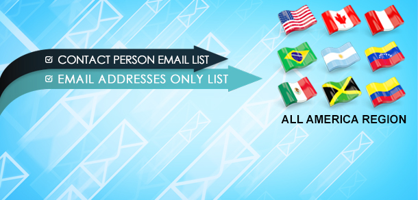 All America Region Business Email Lists