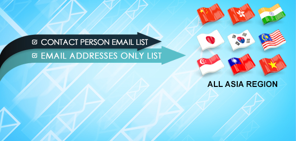 Asia Email Database Lists