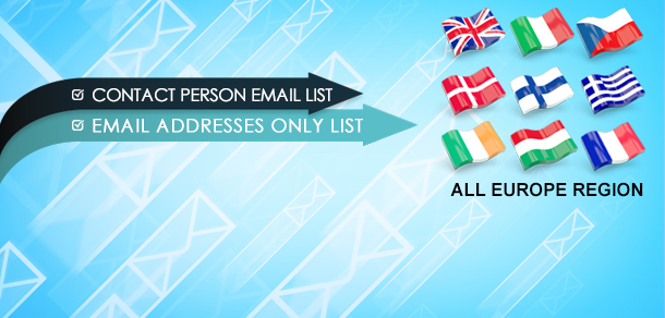 Europe Email Lists