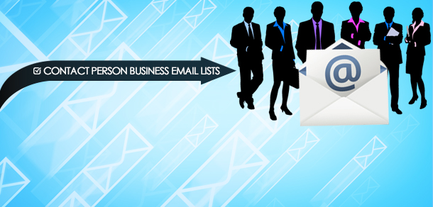 Contact Person Business Email Lists