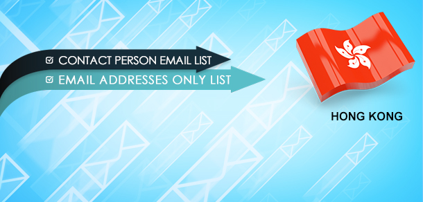 Hong Kong Business Mailing Lists