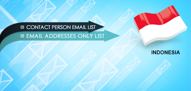 Indonesia Email Marketing Database