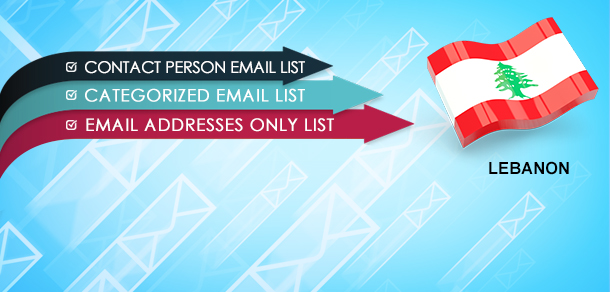 Lebanon Email Leads
