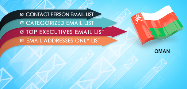 Oman Business Directory Email List