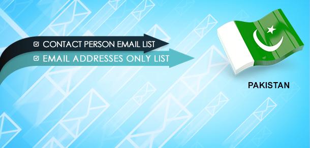 Pakistan Email Database