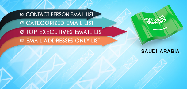 Saudi Arabia Email Lists