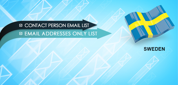 Sweden Email Lists