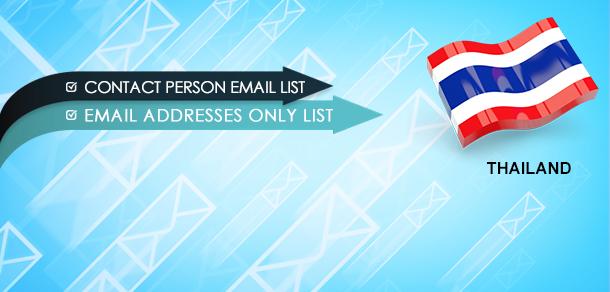 Thailand Email List