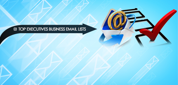 Top Executives Business Email Lists