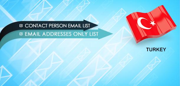 Turkey Email Lists