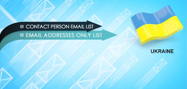 Ukraine Email Marketing Database